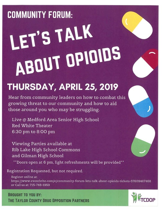 Let's Talk about Opioids
