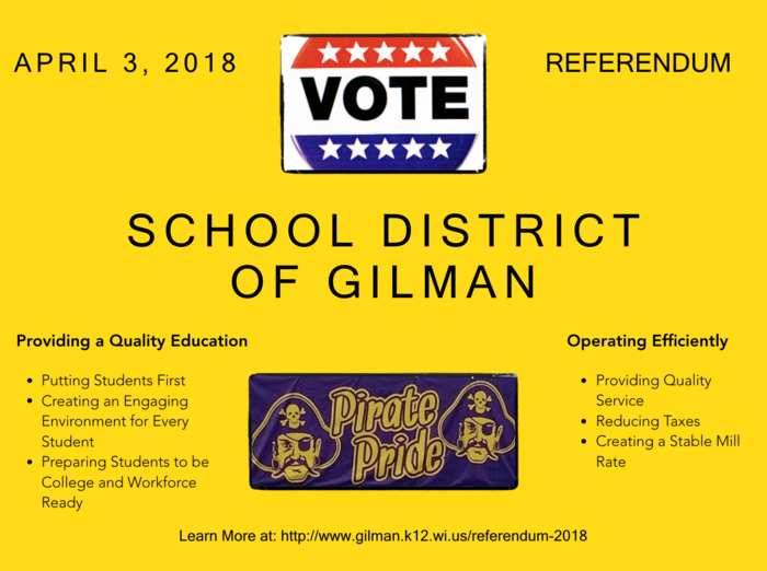 April 3, 2018 Referendum Flyer